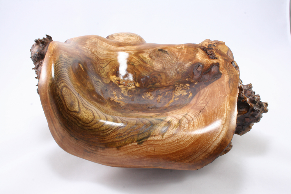 R512015 Burr Elm Carved Form -PS9 small